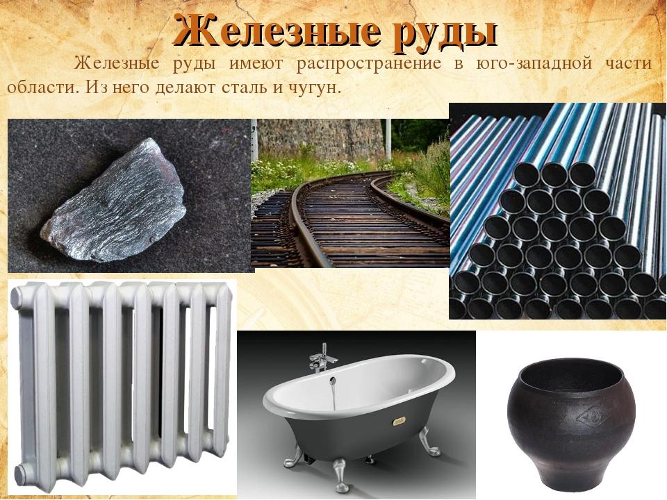 Картинки, картинки из железной руды
