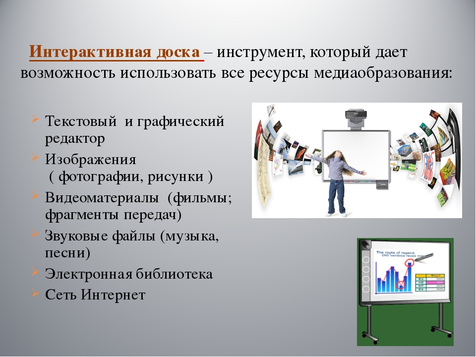 Интерактивная доска – инструмент, который дает возможность использовать все...
