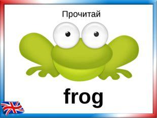 Прочитай frog