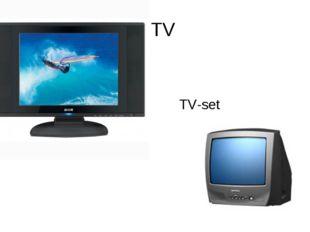 TV TV-set
