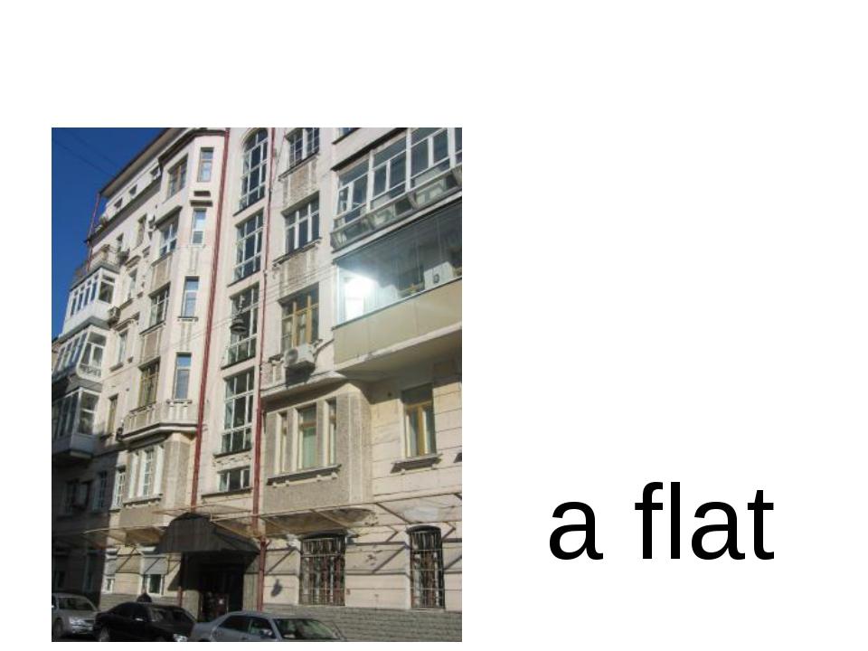 a flat