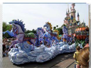 Детский парк создан для развлечений и отдыха. Это особый мир, где всегда весе