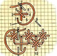 вышивка крестом звездочка
