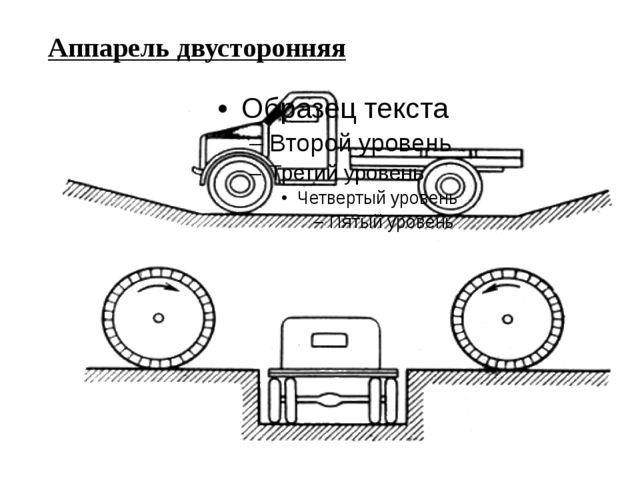 Аппарель двусторонняя