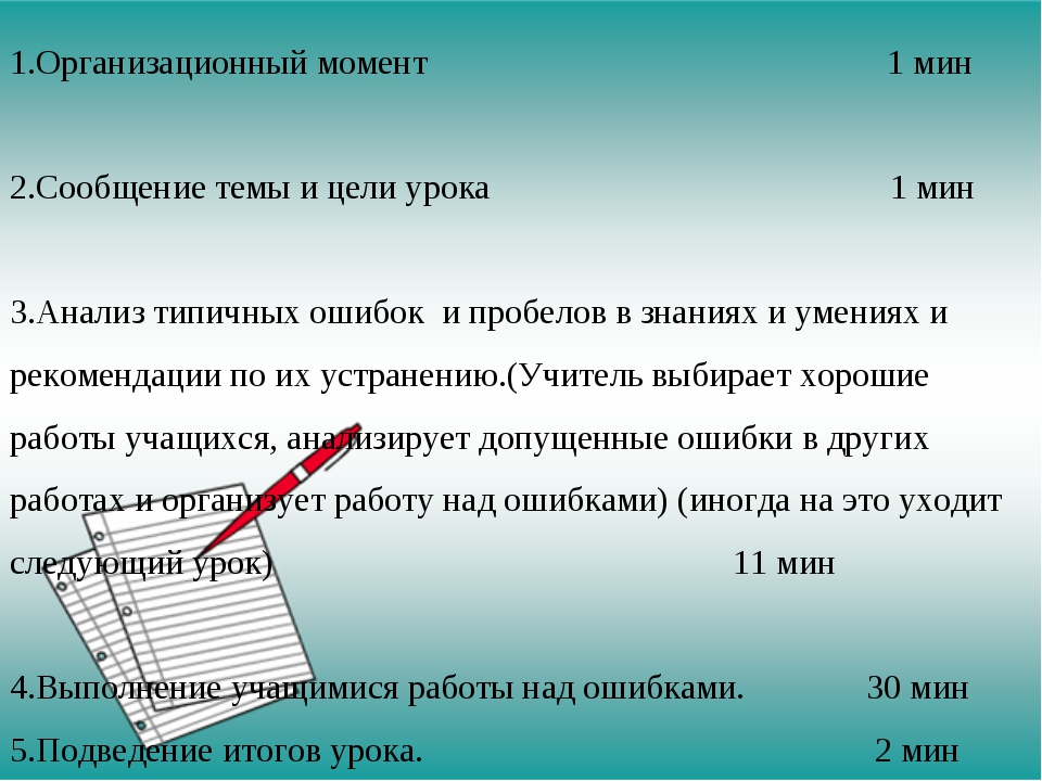 Структура урока коррекции ЗУН Организационный момент 1 мин Сообщение темы и...