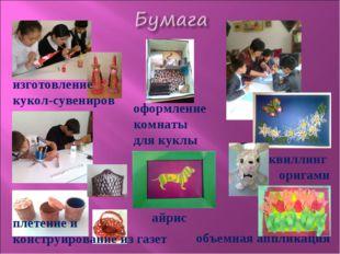 оформление комнаты для куклы изготовление кукол-сувениров плетение и конструи