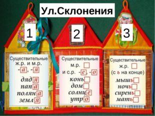 Ул.Склонения 1 2 3