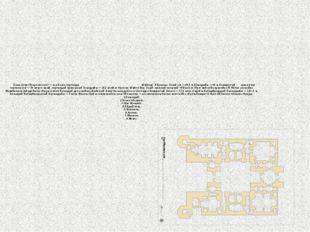 Қожа Ахмет Ясауи кесенесі — аса үлкен порталды күмбезді құрылыс. Оның ені —