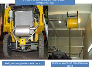 Нейтрализатор выхлопных газов Устройства для снижения токсичности—нейтрализат