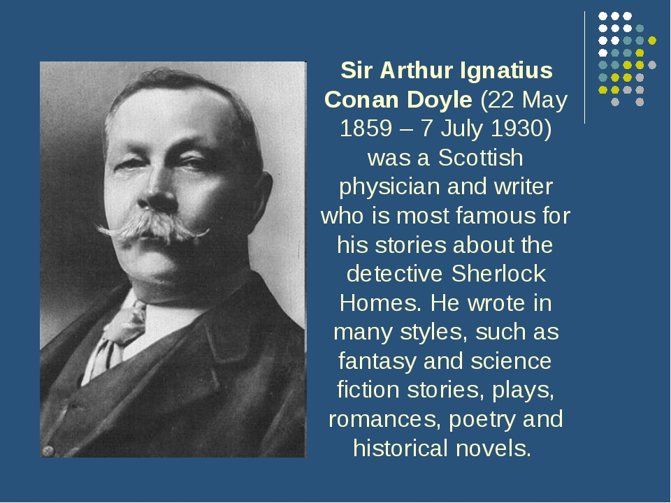 the life and times of sir arthur conan doyle The victorian mansion designed and built by sir arthur conan doyle will be converted into a school good times paris hilton 'partner 4 life'.