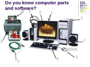 Do you know computer parts and software? ₁ ₃ ₄ ₅ ₆ ₇ ₈ ₉ ₀ ₁ ₂