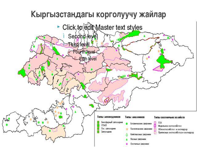 Кыргызстандагы корголуучу жайлар