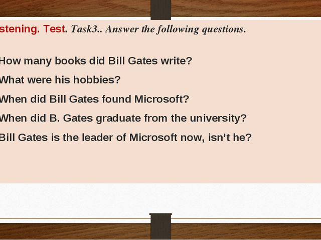 task 3 answer