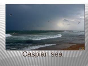 Сaspian sea