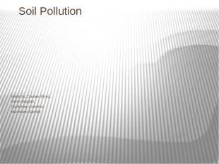 Soil Pollution Made by: Davaev Elveg, Senin Bogdan, Dordzhiev Urubzhur, Muchk