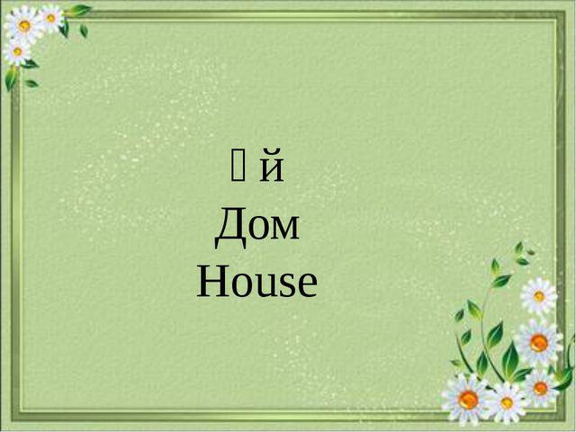 Үй Дом House