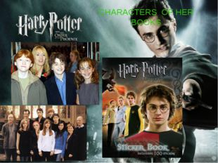 CHARACTERS OF HER BOOKS