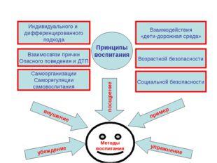 Принципы воспитания Индивидуального и дифференцированного подхода Взаимосвязи