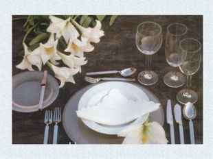 УКРАШЕНИЕ СТОЛА САЛФЕТКАМИ Самый простой и элегантный способ украсить стол с