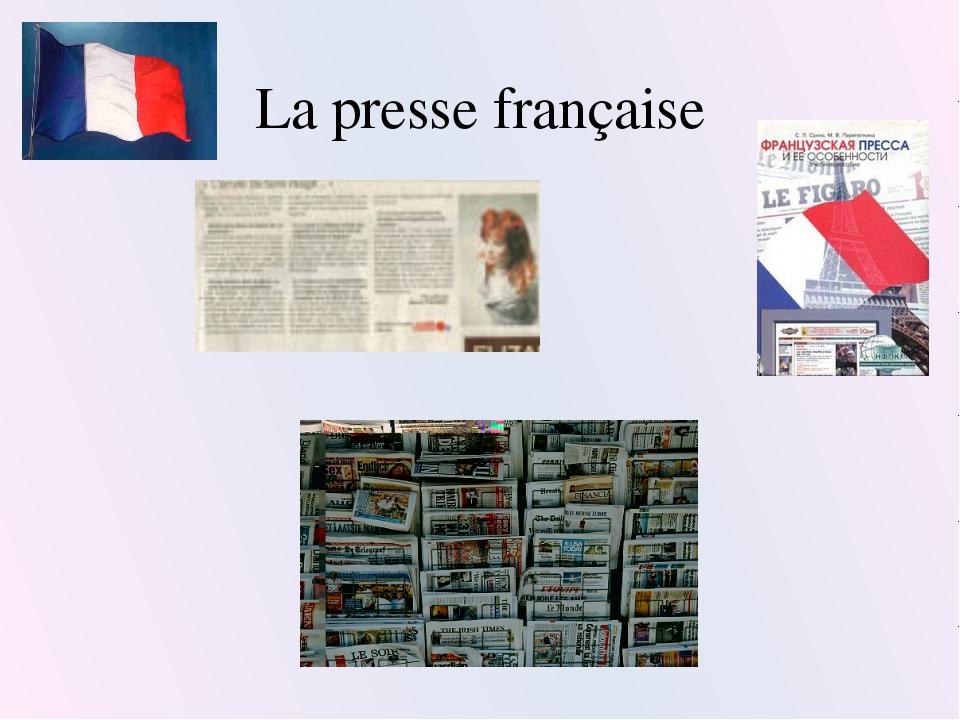 La presse française