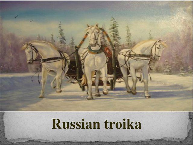 Russian troika