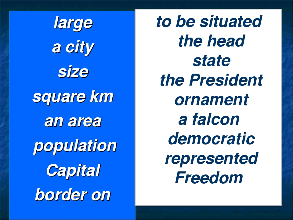 large a city size square km an area population Capital border on to be situat...