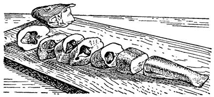 Порционные куски (кругляши)