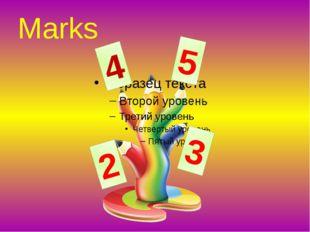 Marks 2 5 4 3