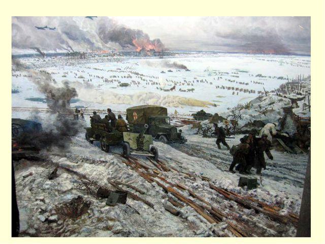 Войскам Ленинградского и Волховского фронта дан приказ: перейти в наступление...