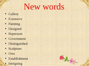 New words Gallery Extensive Painting Designed Represent Government Distinguis