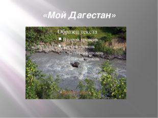 «Мой Дагестан»