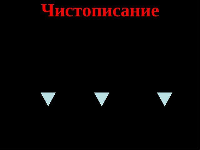 Чистописание 1. тяжелый – легкий правда – правый – грубый – трудолюбивый - 2....