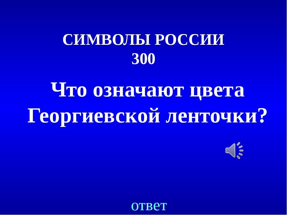 ЛЮДИ.СОБЫТИЯ.ФАКТЫ 200 Назовите самый высокий памятник в России? ответ