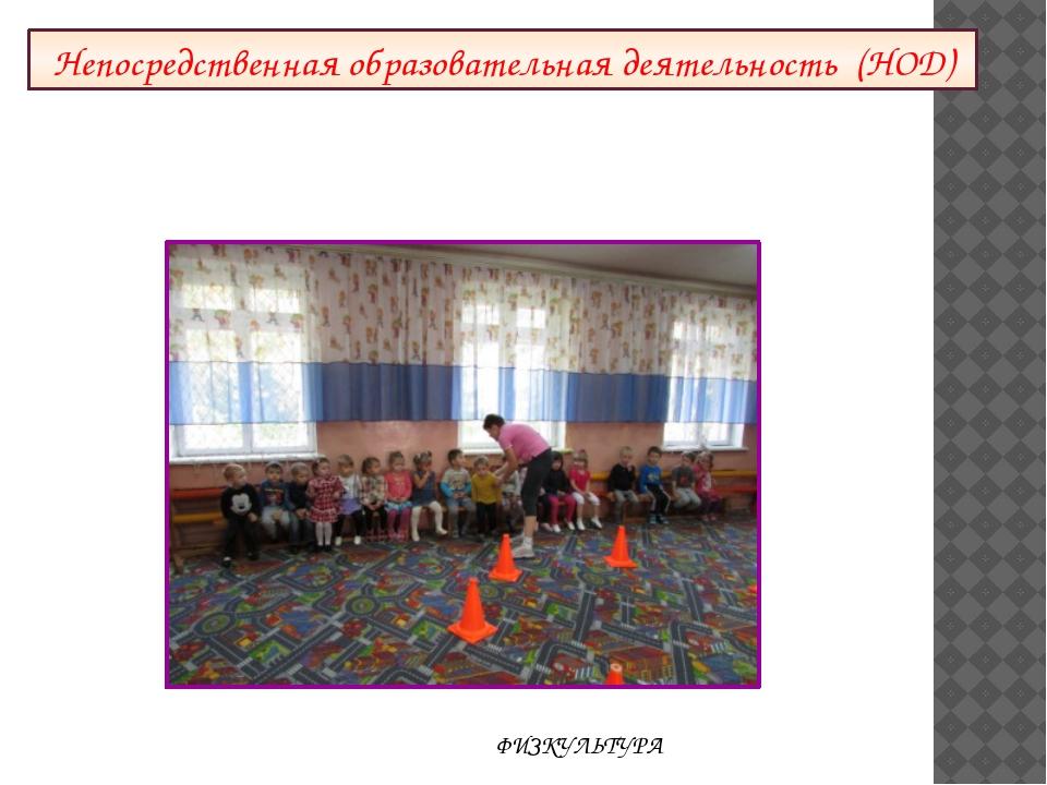 Непосредственная образовательная деятельность (НОД) ФИЗКУЛЬТУРА