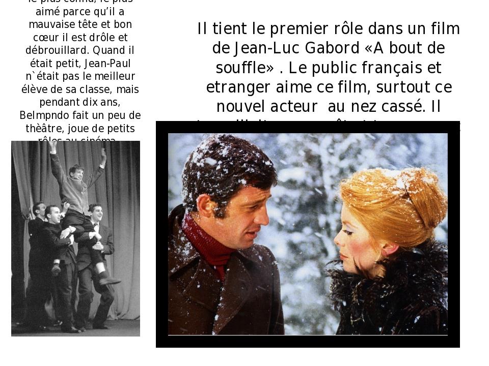 C'est l'aucteur français le plus connu, le plus aimé parce qu'il a mauvaise...