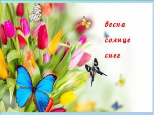 ЛЕТЕТЬ Я Ты Он Мы Вы Они лечу летишь летит летим летите летят весна солнце снег