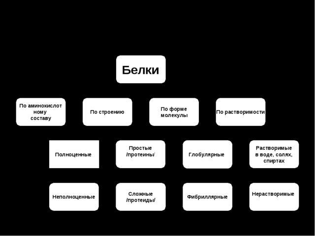Классификация белков