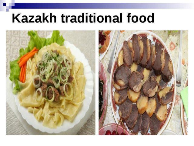 Kazakh traditional food