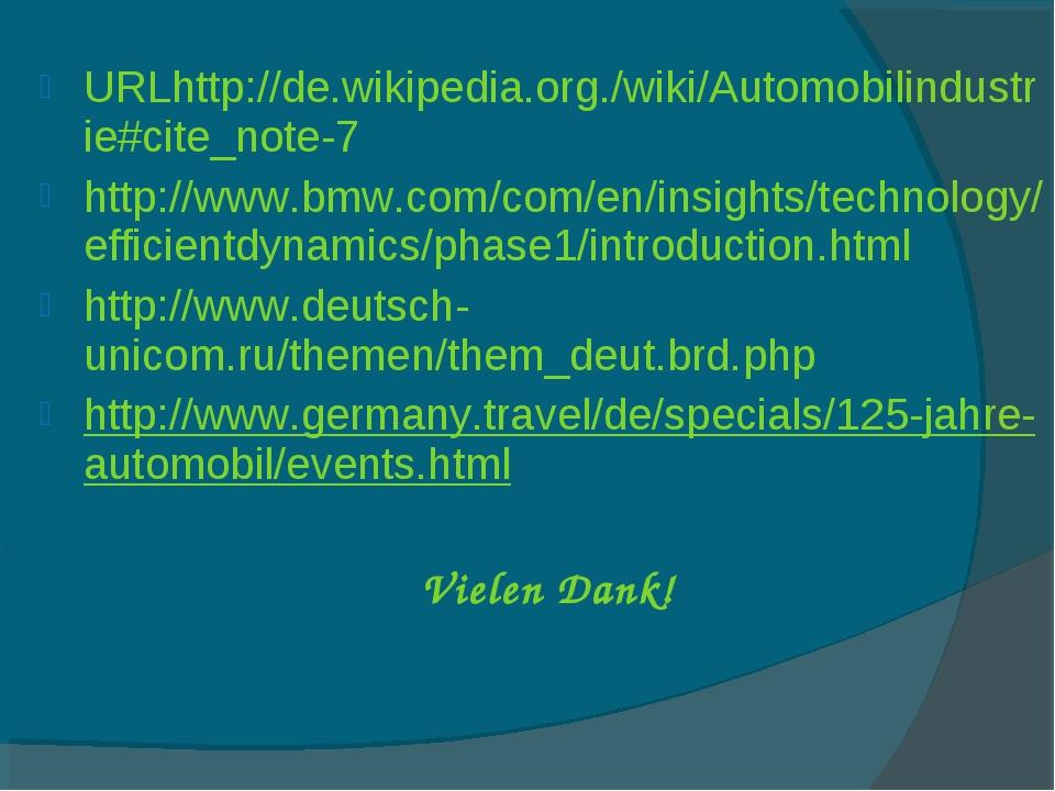 URLhttp://de.wikipedia.org./wiki/Automobilindustrie#cite_note-7 http://www.bm...