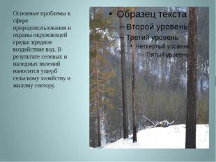 Основные проблемы в сфере природопользования и охраны окружающей среды: вредн