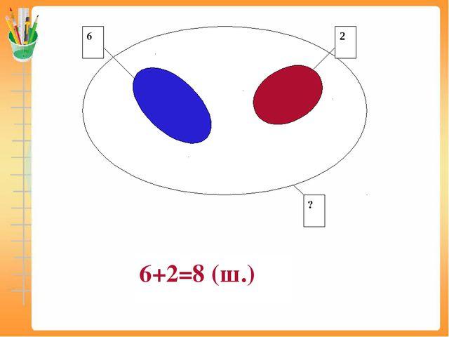 6+2=8 (ш.)