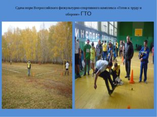 Сдача норм Всероссийского физкультурно-спортивного комплекса «Готов к труду и