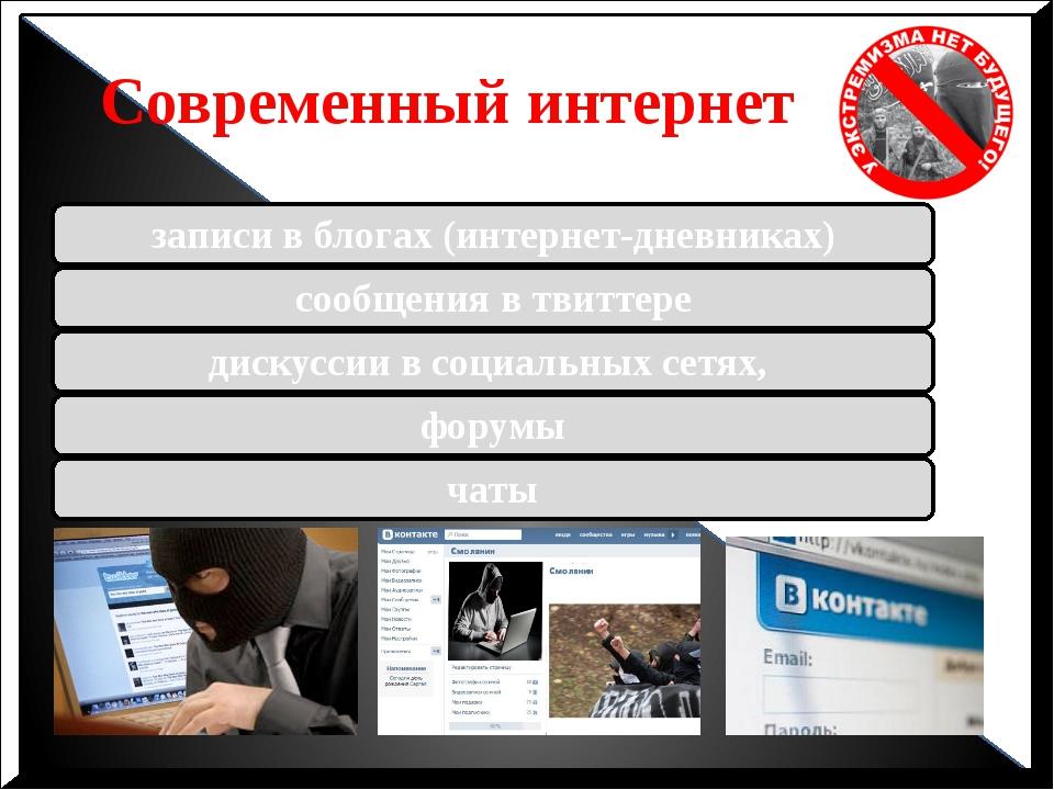 Современный интернет