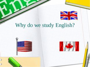 Why do we study English?