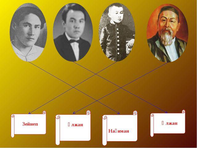 Зейнеп Ұлжан Әлжан Нағиман