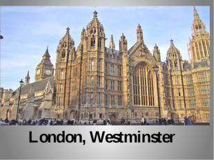 London, Westminster