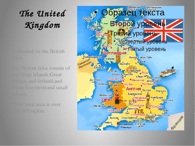 The United Kingdom is situated on the British Isles. The British Isles consis...