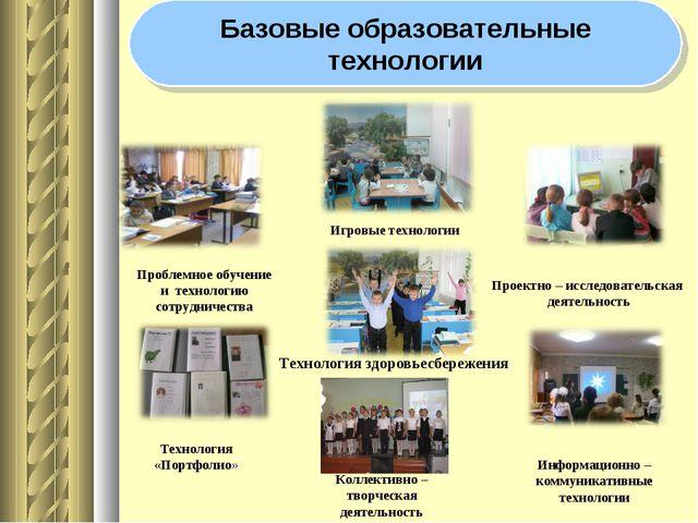 Проблемное обучение и технологию сотрудничества Проектно – исследовательская...