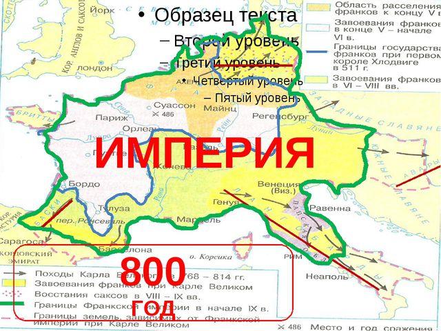 800 ГОД ИМПЕРИЯ