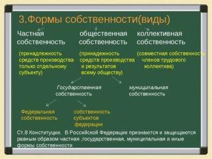 (принадлежность (принадежность (совместная собственность средств производств